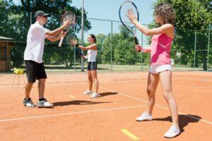 Jouer tennis